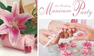 Teen Manicure Party