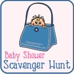 baby shower purse scavenger hunt