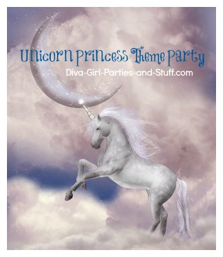 Unicorn Princess Theme Party