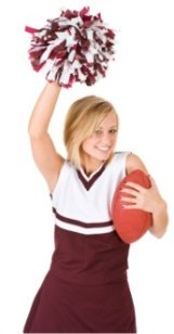 football trivia game cheerleader