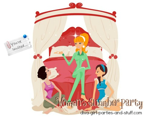 slumber party for adult women