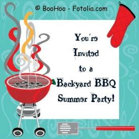 Backyard Bbq Summer Party