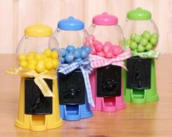 Baby Shower Gumball Machine Favors