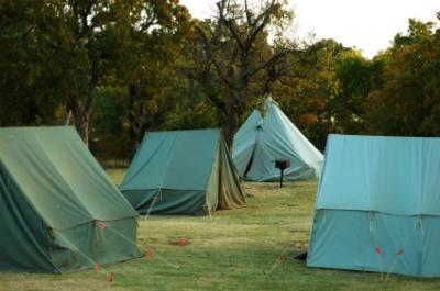 Tents for a Camping Party