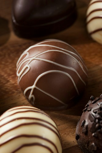 easy christmas chocolates recipe