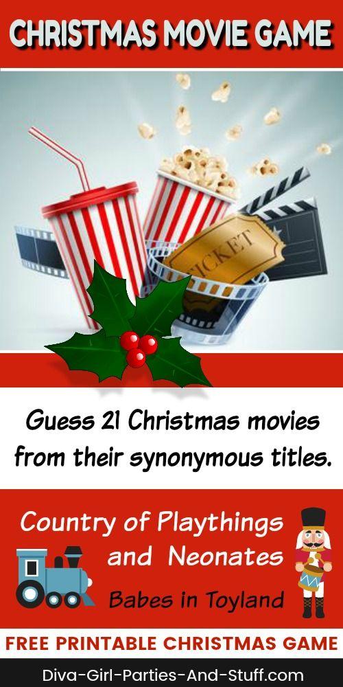 name the christmas movie game - Girl Stuff For Christmas