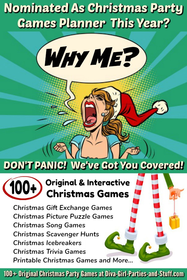 100 Plus Christmas Party Games