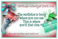 Christmas Scavenger Hunt Clue