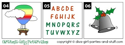 Holiday Pictogram Puzzles | New Calendar Template Site