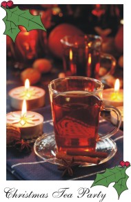 Christmas Tea Party Holiday Beverages
