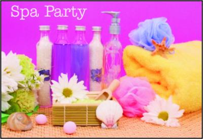 Spa Party Products