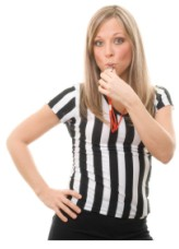 Cute Super Bowl Party Referee