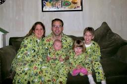 Matching Pajama Family