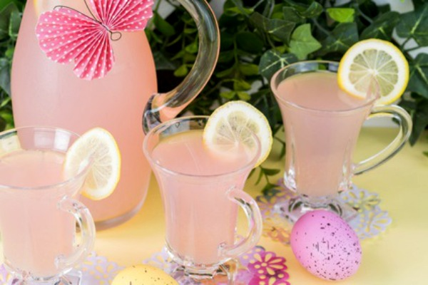 Pink Lemonade for a Garden Party