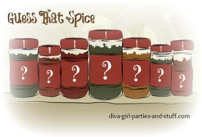 bridal shower spice game