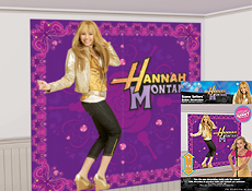 Hannah Montana Party Scene