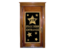 Hollywood Party VIP Door Cover