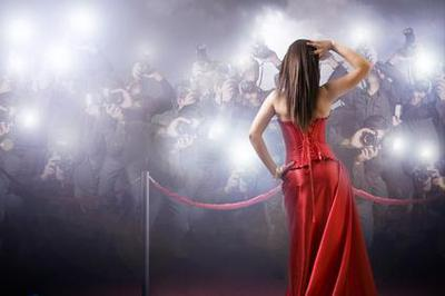 Hollywood Film Stars Party Scene