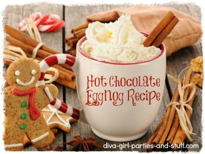 Hot Chocolate Eggnog Recipe