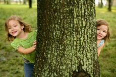 Kids Nature Scavenger Hunt in the Park