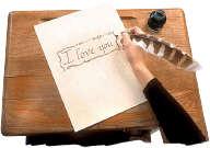 romantic love note
