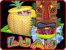 bat mitzvah luau theme