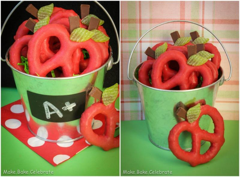 Apple Pretzels by Make Bake Celebrate
