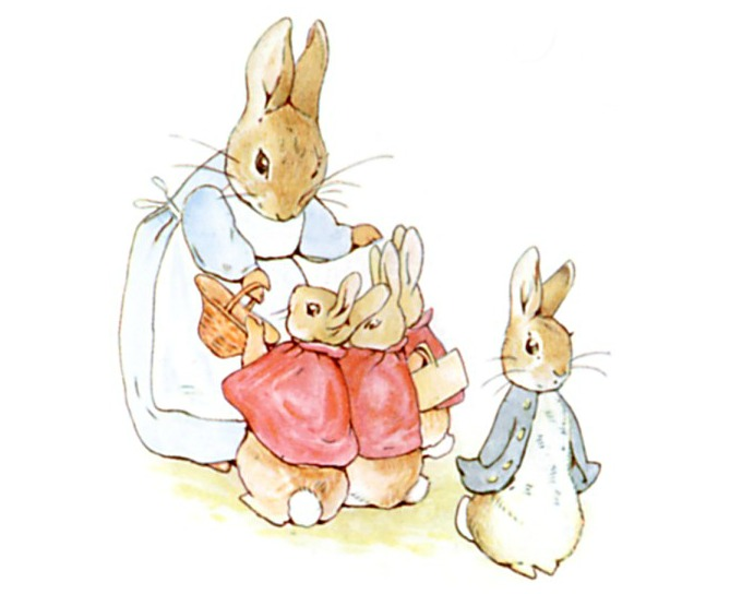 Peter Rabbit Mother's Instructions to Obey