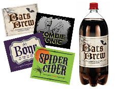 Creepy Beverage Labels