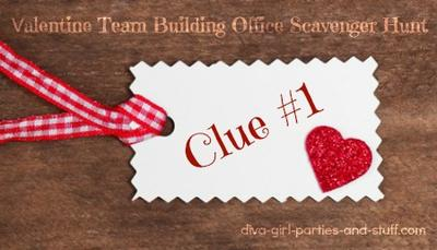 Office Valentine Scavenger Hunt