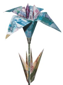paper folding money art