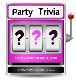 Party Trivia Machine Question Marks
