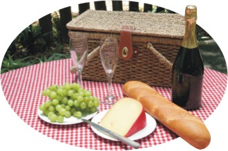 picnic bast of food trivia
