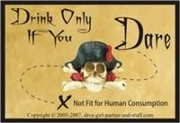 drink if you dare label