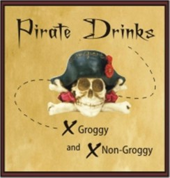 logo for pirate drinks