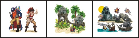 backdrops for pirate parties