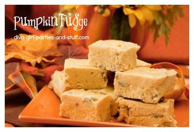 Yummy Pumpkin Fudge Recipe