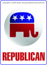 Republican or Democrat Trivia Card