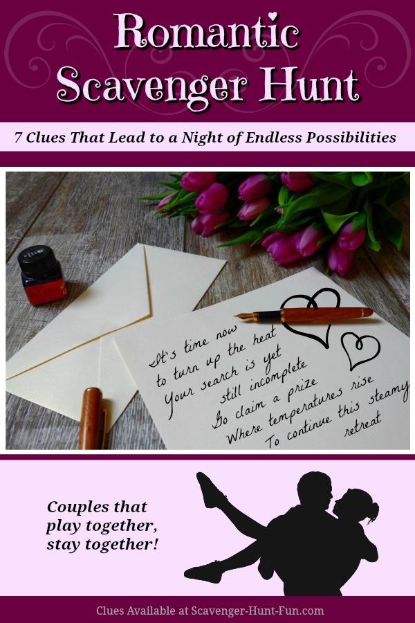 Romantic Scavenger Hunt for Couples