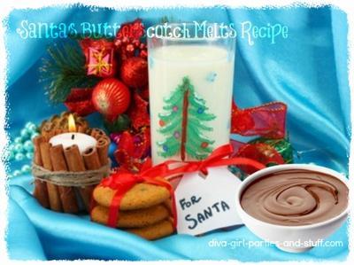 Santa's Butterscotch Melts Recipe