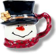 Snowman Mug Christmas Decoration