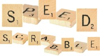 Scrabble Tiles for a Scrabble Board Game Variation