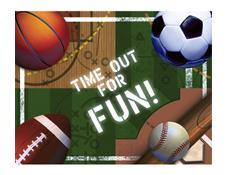 bat mitzvah sports theme