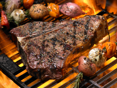 Barbecued Steak