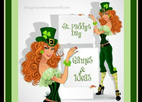47d5451d St Patricks Day Party Ideas and Games