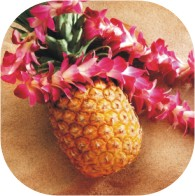 hawaiian luau pineapple