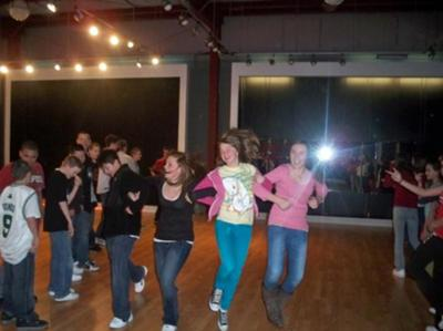 Just a small part of the dancing we did!