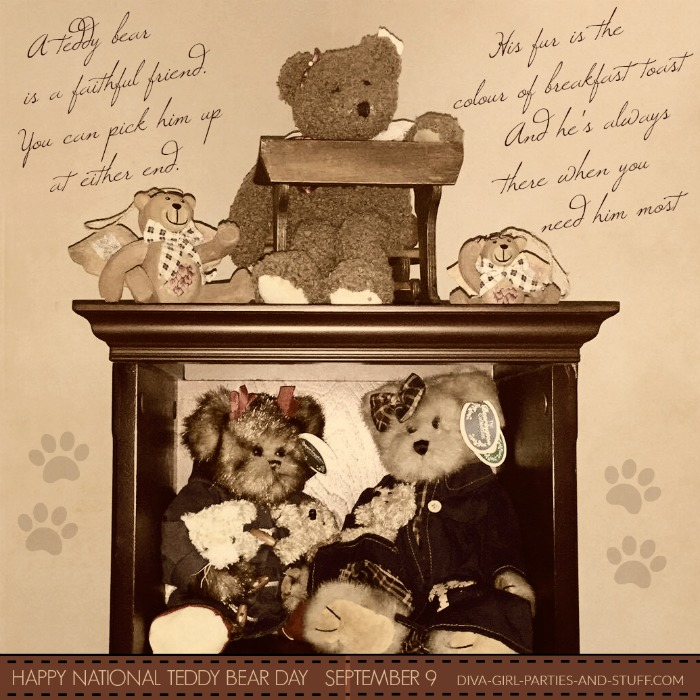 National Teddy Bear Day Greeting