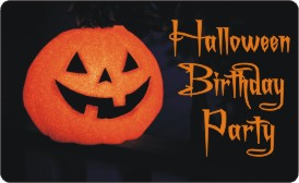 Tween Halloween Birthday Party