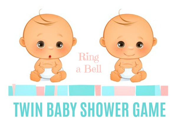Wonderful Ring A Bell Twin Baby Shower Game Icebreaker